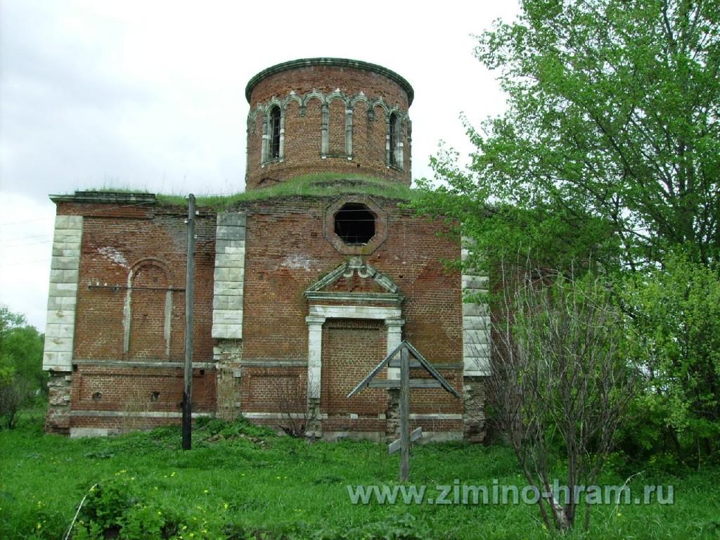 Фото храм Зимино