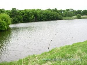 Фотография озеро возле усадьбы май 2009